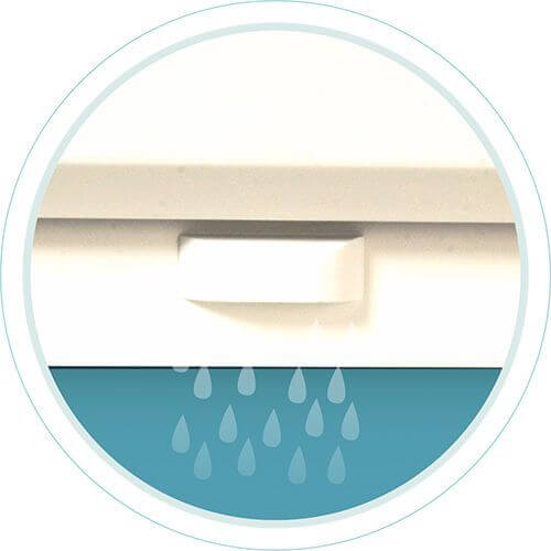 uPVC Windows & Doors Water Drainage Holes