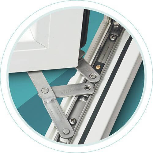 uPVC Windows & Doors Friction Stay