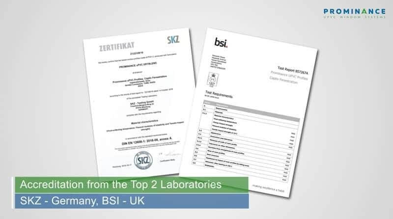 uPVC Windows & Doors for South African Conditions Lab Results from BSI & SKZ